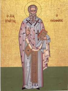 Sfantul Mucenic Ignatie, purtatorul de Dumnezeu