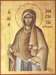 Sfanta Preacuvioasa mare Mucenita Anastasia Romana