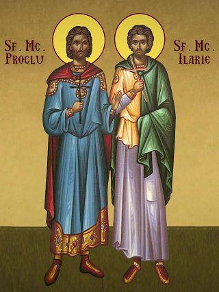 Sfinţii Mucenici Proclu şi Ilarie